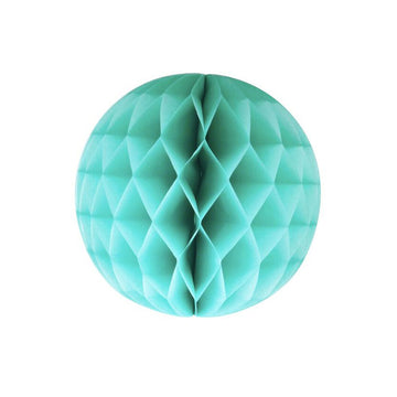 Aqua Honeycomb Ball / Large