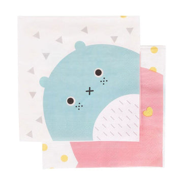 Noodoll Paper Napkins / 20 Count
