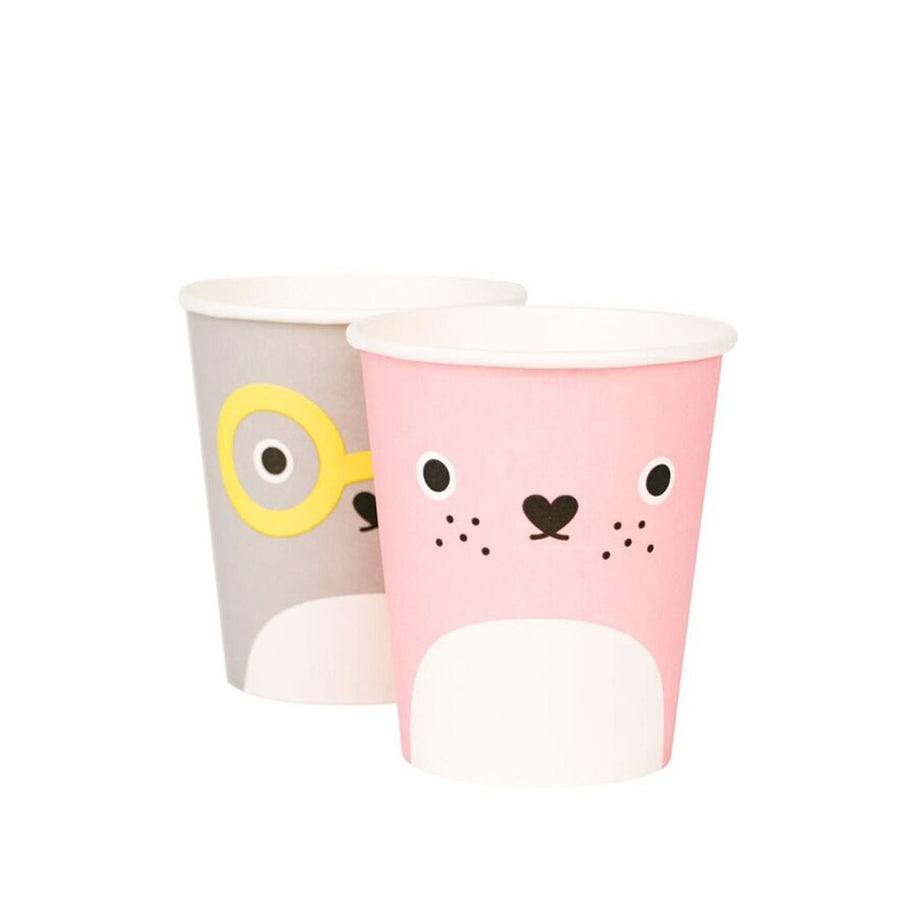 Noodoll Paper Cups / Set of 8