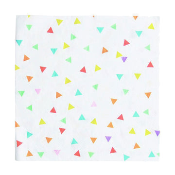 Rainbow Triangles Paper Napkins / 20