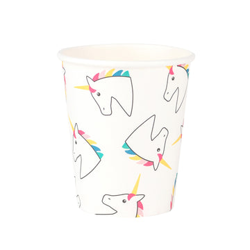 Unicorn Paper Cups / Set of 8