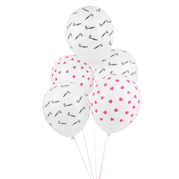 Bisou Tattooed Balloons / Set of 5