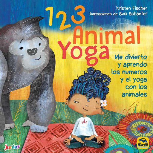 1 2 3 Animal Yoga | Kristen Fischer, Susi Schaefer