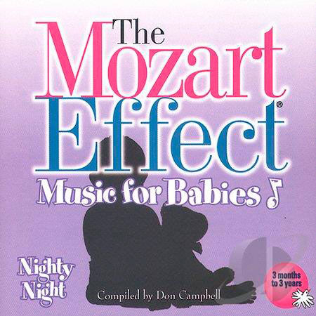 CD The Mozart Effect - Nighty Night Don Campbell