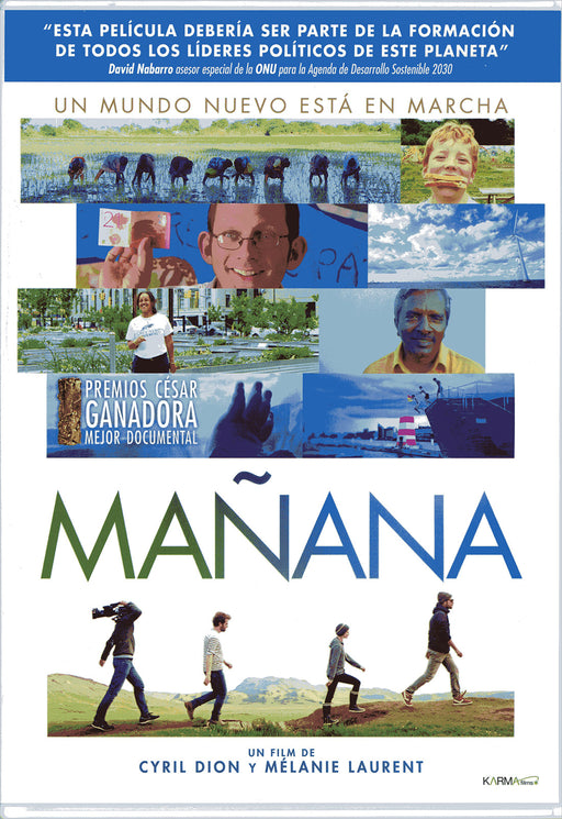 DVD - Mañana Cyril Dion, Mélanie Laurent