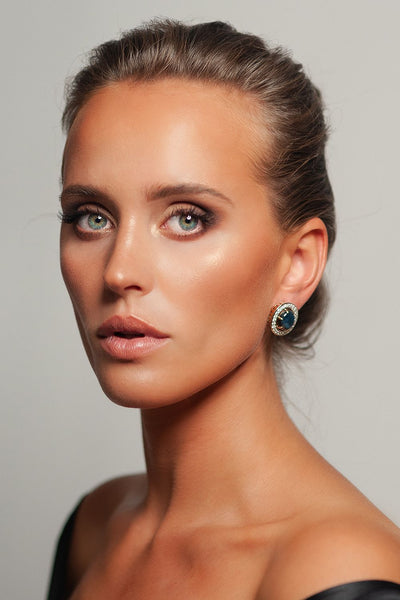 Opera Earrings by Viktor Sitalo on a Model
