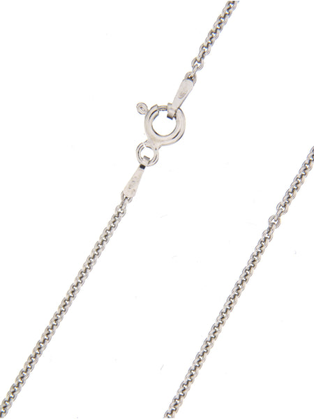 Round Anchor Chain in Sterling Silver - 1.5 mm thick, 50 cm long