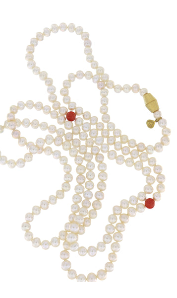 Dearest Coco Pearl Necklace by Peregrina Pearls - a close-up