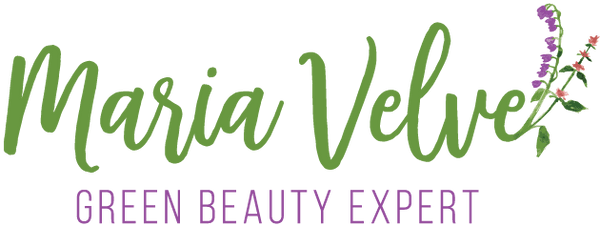 Maria Velve, green beauty expert logo