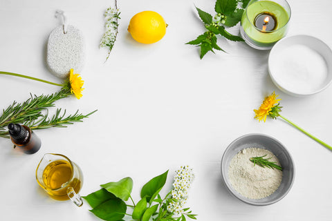 Green Beauty Expert store image with ingredients