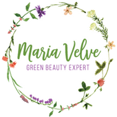 Maria Velve - green beauty expert logo