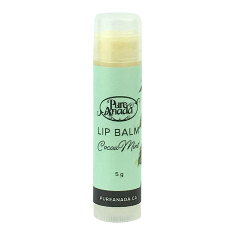 Pure Anada Lip Balm in Cocoa Mint