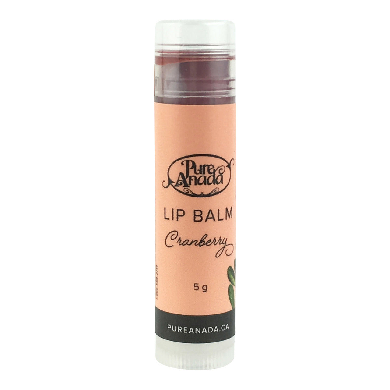 Pure Anada Lip Balm - Cranberry (tinted)