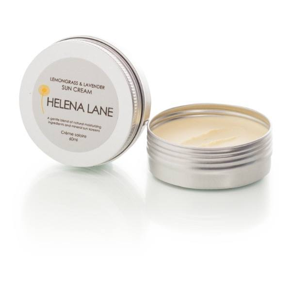 Helena Lane Lemongrass & Lavender Sun Cream