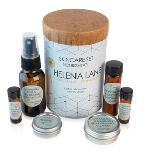 Helena Lane Nourishing Skincare Set contents