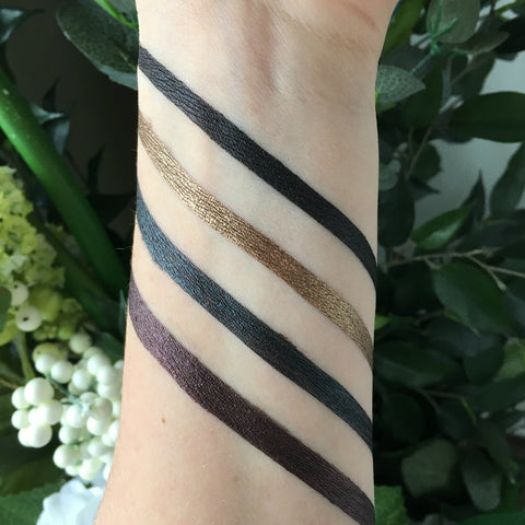 Pure Anada liquid eye liner swatch
