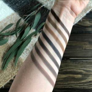 Pure Anada mineral eye brow shades