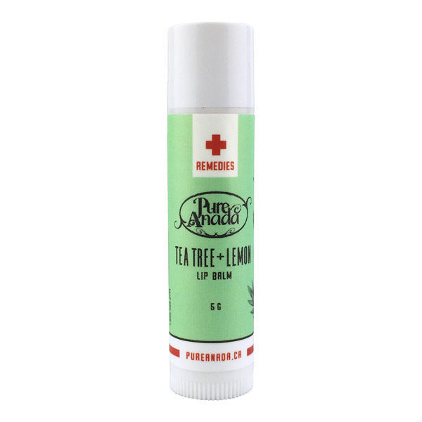 Pure Anada Lip Balm Tea Tree Lemon