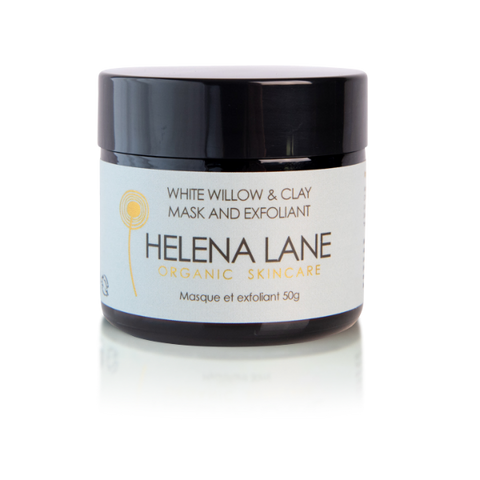 Helena Lane White Willow & Clay Mask and Exfoliant