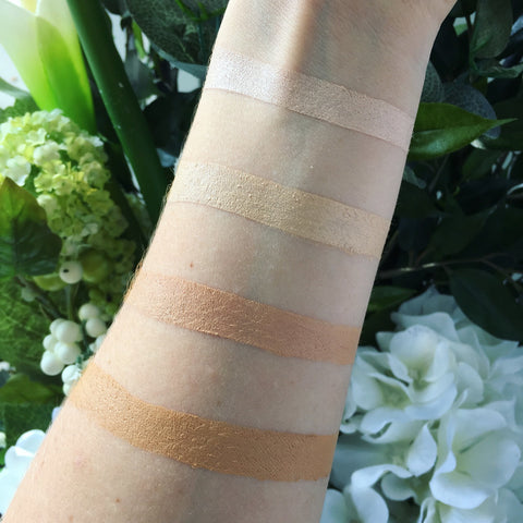 Pure Anada Cream Concealer swatch on arm