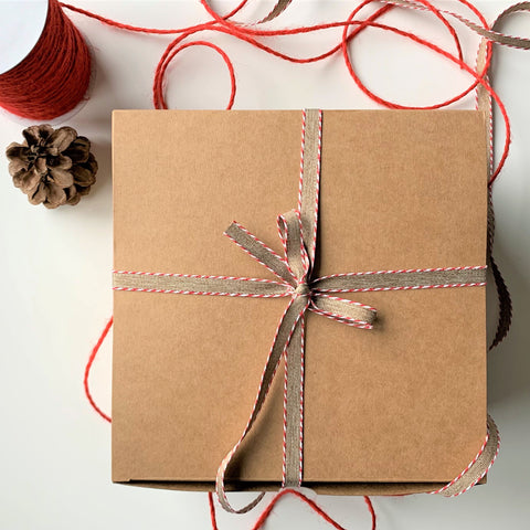 Green Beauty Expert gift wrapping