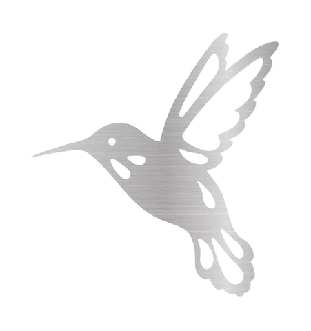 Hummingbird Metal Sign