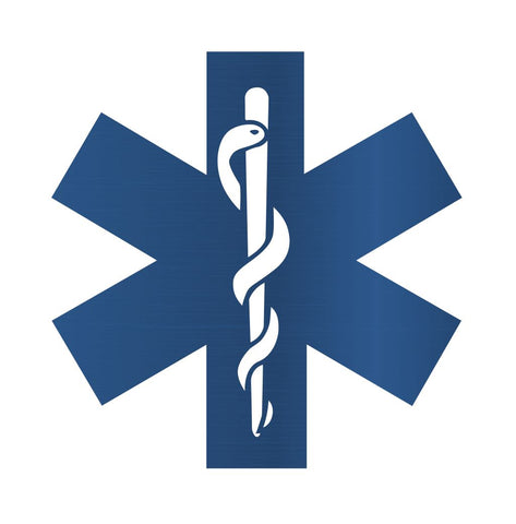 Star of Life Metal Sign