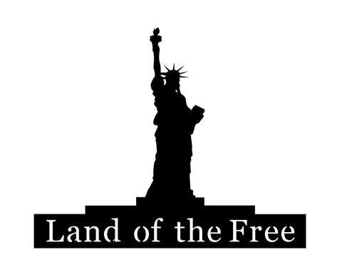 Statue of Liberty Metal Sign