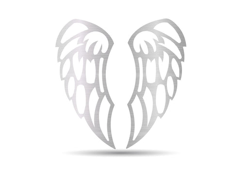Angel Wings Metal Sign