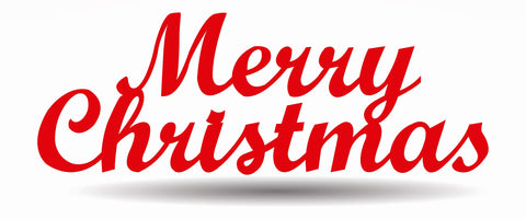 Merry Christmas Metal Sign, Christmas time