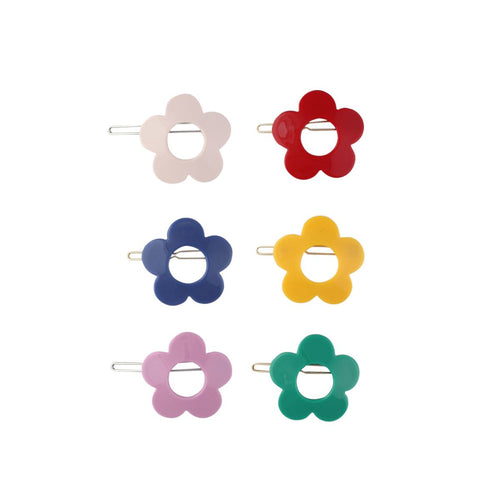 Acrylic Flower Clip - Pitter Patter