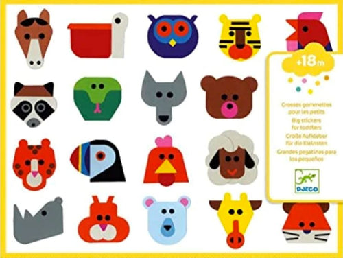Animal Stickers Impulse Djeco Toys