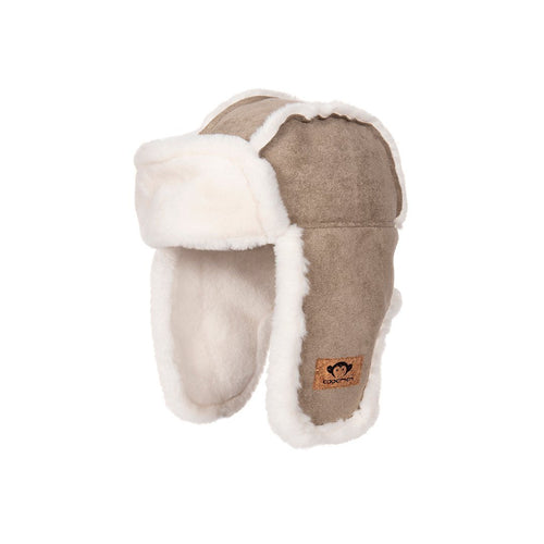 Beige Trapper Hat - Pitter Patter