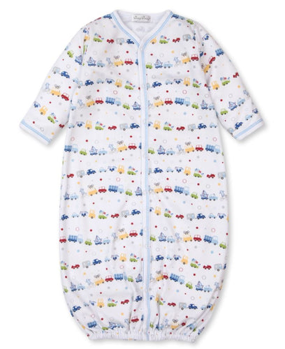 Bumper Traffic Convertible Gown Gown Kissy Kissy NB