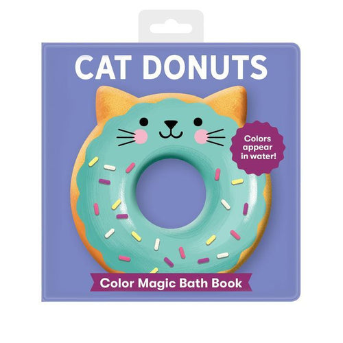 Cat Donuts Color Magic Bath Book - Pitter Patter