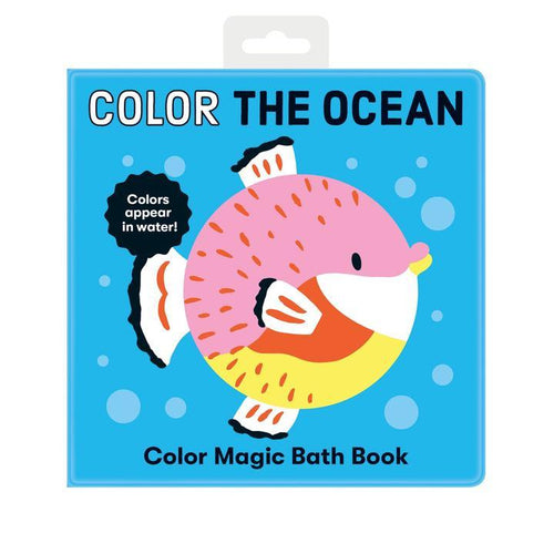 Color the Ocean Color Magic Bath Book - Pitter Patter