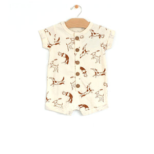 Dog Short Romper Romper City Mouse 3-6m
