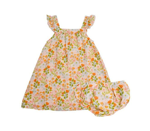 Earth Floral Dress Dresses Angel Dear 4
