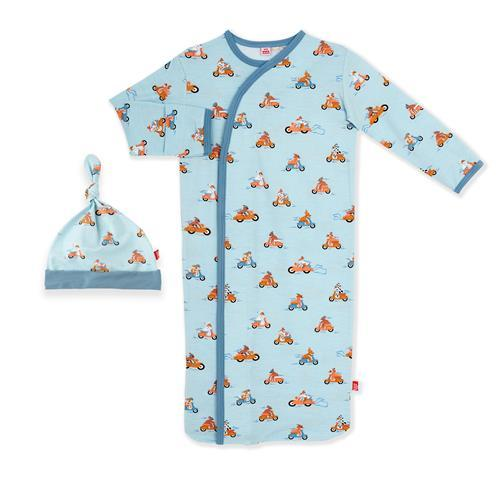Easy Rider Magnetic Me Gown & Hat Gown Magnetic Me NB-3m