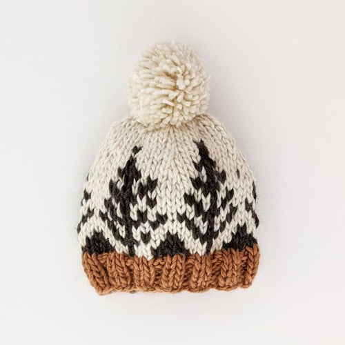 Forest Knit Beanie Hats Huggalugs 6-24m