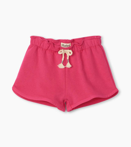 Fuchsia French Terry Short Shorts Hatley Kids 2T
