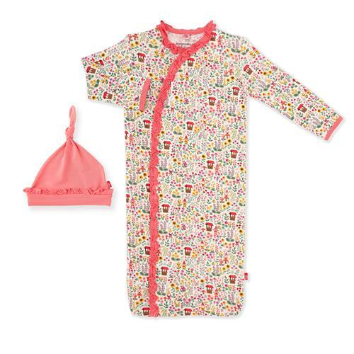 Gnome Magnetic Gown & Hat - Pitter Patter