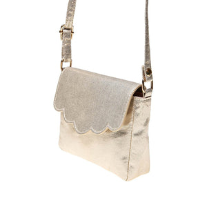 Gold Scallop Bag - Pitter Patter