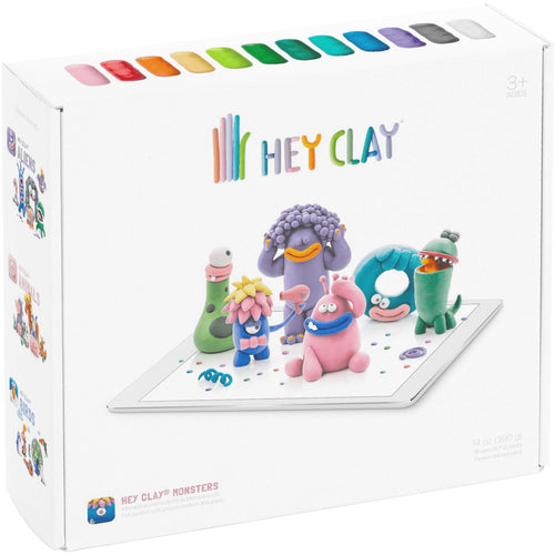 Hey Clay Modeling Sets - Pitter Patter