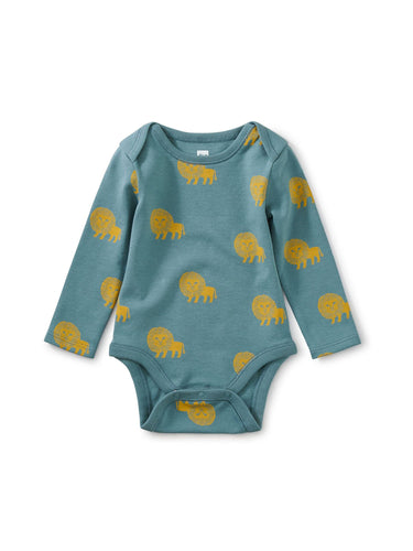 Lion Bodysuit Onesie/Bodysuit Tea 0-3m