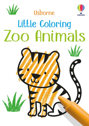 Little Coloring Toys Usborne Books Zoo Animals