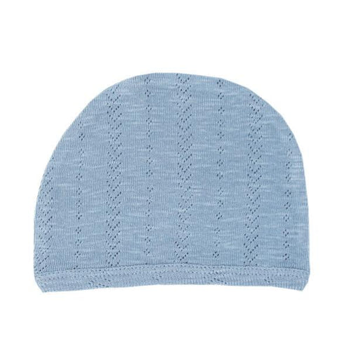 Pool Blue Pointelle Hat Hats L'oved Baby 0-3m