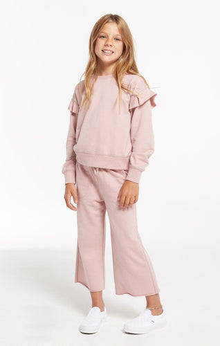 Quincy Pink Crop Pant - Pitter Patter