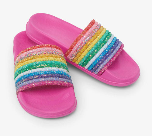 Rainbow Slide Sandals Shoes Hatley Kids 8 shoe