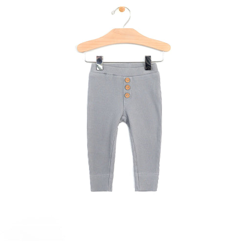 Slate Blue Pant Pants City Mouse 0-3m